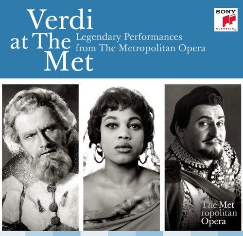 Verdi at the MET: Legendary Performances from The Metropolitan Opera by Various Artists