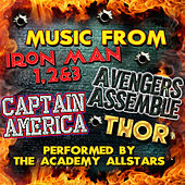 Music from Iron Man 1, 2 & 3, Avengers Assemble, Captain America & Thor by Academy Allstars