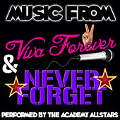 Music from Viva Forever & Never Forget by Academy Allstars
