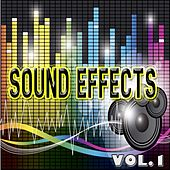 Sound Effects, Vol. 1 (Water, Police, Radio, Tennis, Motor Bike and More) by Das EFX