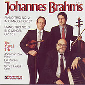 Johannes Brahms: Piano Trios, Nos. 2 & 3 by The Yuval Trio