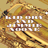 Kid Ory and Jimmie Noone by Jimmie Noone