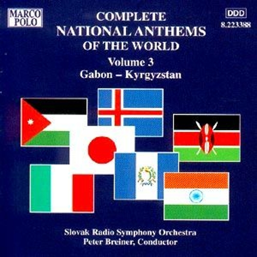 National Anthems, Volume 3 by Various Artists