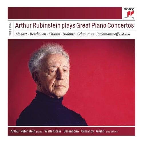 Arthur Rubinstein Plays Great Piano Concertos by Arthur Rubinstein