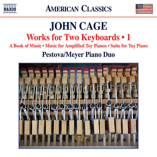 Cage: Works for 2 Keyboards, Vol. 1 by Xenia Pestova