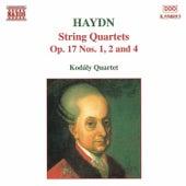String Quartets Op. 17 Nos, 1, 2, and 4 by Franz Joseph Haydn