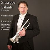 Paul Hindemith: Sonata for Trumpet and Piano: I. Mit Kraft by Giuseppe Galante