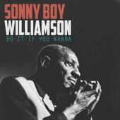 Do It If You Wanna von Sonny Boy Williamson