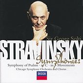 Stravinsky: Symphony in C/Symphony in 3 Movements/Symphonie de Psaumes by Various Artists