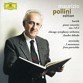 Stravinsky: 3 Dances from Petrushka / Bartók: Piano Concertos Nos.1 & 2 by Maurizio Pollini
