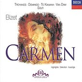 Bizet: Carmen - (highlights) by Various Artists