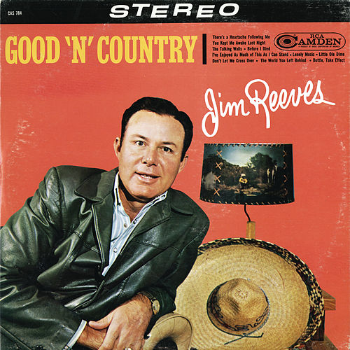 Good 'N' Country by Jim Reeves