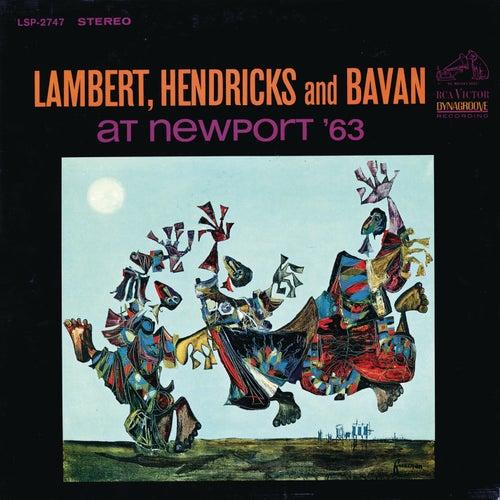 Live at Newport '63 by Lambert