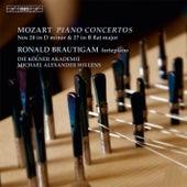 Mozart: Piano Concertos Nos. 20 & 27 by Ronald Brautigam