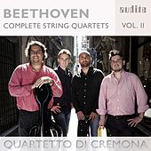 Ludwig van Beethoven: Complete String Quartets, Vol. 2 (String Quartets, Op. 59 No. 2 & Op. 127) by Quartetto di Cremona