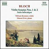 Violin Sonatas Nos. 1 and 2 / Suite Hébraïque by Ernest Bloch