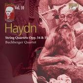Haydn: String Quartets, Op. 54 & 55 by Buchberger Quartet