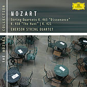 Mozart: String Quartets K. 465, 458 & 421 by Emerson String Quartet