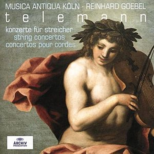 Telemann: String Concertos by Various Artists