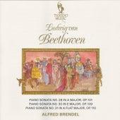 Beethoven: Piano Sonatas No. 28, Op. 101, No. 30, Op. 109 & No. 31, Op. 110 by Alfred Brendel
