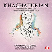 Khachaturian: Concerto for Piano and Orchestra in D-Flat Major, Op. 38 (Digitally Remastered) by Mikhail Vostresensky