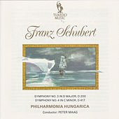 Schubert: Symphony No. 3, D. 200 & No. 4, D. 417 by Philharmonia Hungarica