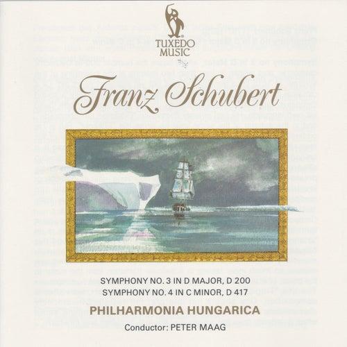 Schubert: Symphony No. 3, D. 200 & No. 4, D. 417 by Philharmonia Hungarica
