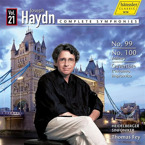 Haydn: Complete Symphonies, Vol. 21 by The Heidelberg Symphony Orchestra