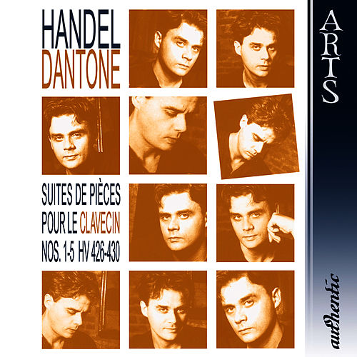 Händel: Suites de Piéces pour le Clavecin Nos. 1-5 HV 426-430 by Ottavio Dantone