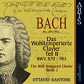 Bach: The Well-Tempered Clavier, Book 2 - BWV 870-893 by Ottavio Dantone
