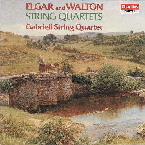 Elgar & Walton: String Quartets by Gabrieli String Quartet