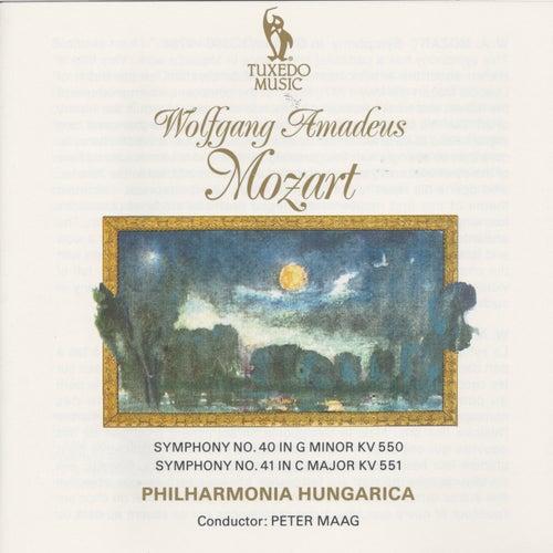 Mozart: Symphony No. 40, K. 550 & No. 41, K. 551 by Philharmonia Hungarica