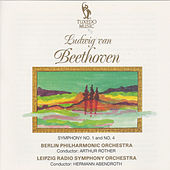 Beethoven: Symphony No. 1, Op. 21 & No. 4, Op. 60 by Leipzig Radio Symphony Orchestra