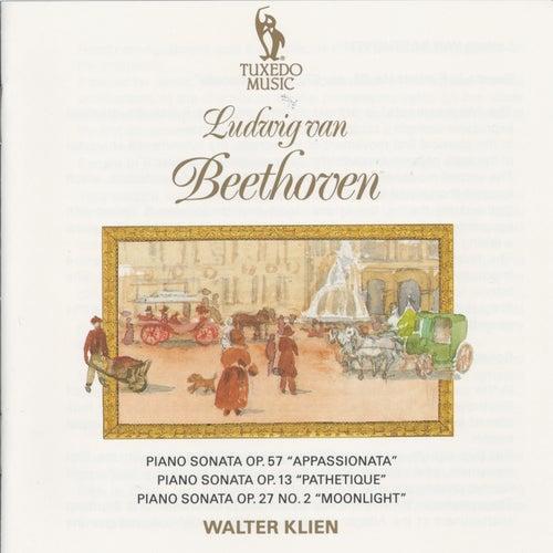 Beethoven: PIano Sonatas Op, 57, Op. 13, Op. 27 No.2 by Walter Klien