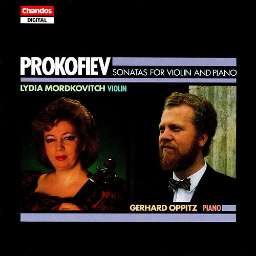 Prokofiev: Sonatas for Violin and Piano by Lydia Mordkovitch