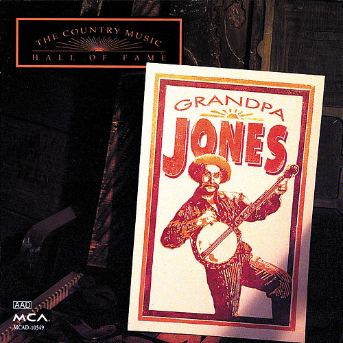 Country Music Hall Of Fame by Grandpa Jones