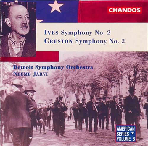 Ives: Symphony No. 2 - Creston: Symphony No. 2 by Detroit Symphony Orchestra