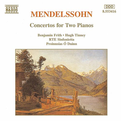 Concertos for Two Pianos by Felix Mendelssohn