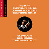 Mozart: Symphonies Nos. 35, 40 & 41 by Cleveland Orchestra