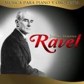 Joseph Maurice Ravel. Música para piano y para orquesta by Hamburg Radio Orchestra