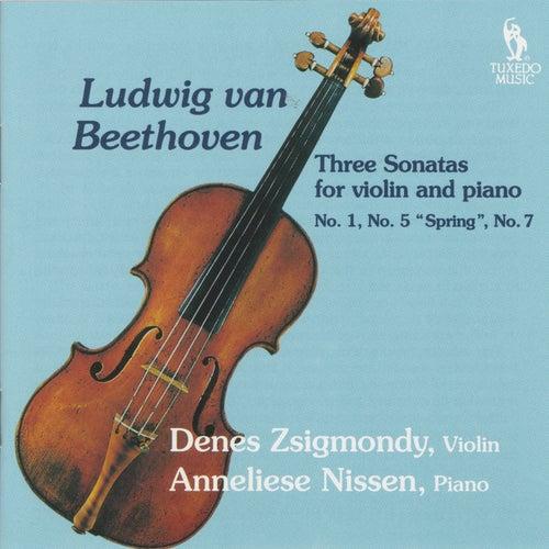 Beethoven: Three Violin Sonatas No. 1, No. 5 & No. 7 by Anneliese Nissen