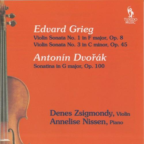 Grieg & Dvórak: Violin Sonatas by Anneliese Nissen