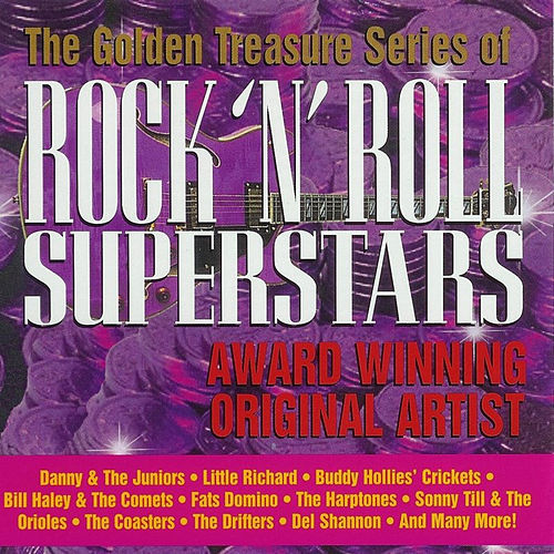 Golden Treasure Series Of Rock 'n' Roll Superstars by Various Artists