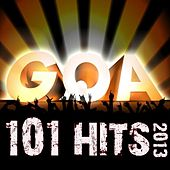 101 Goa Hits 2013 - Best Top Electronic Dance, Trance, Psychedelic, Fullon, Forest, Night, Classic, Psy, Acid Techno, Rave Anthem by Various Artists
