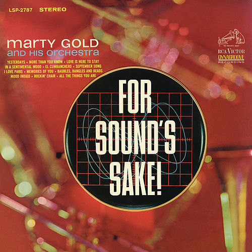 For Sound's Sake by Marty Gold