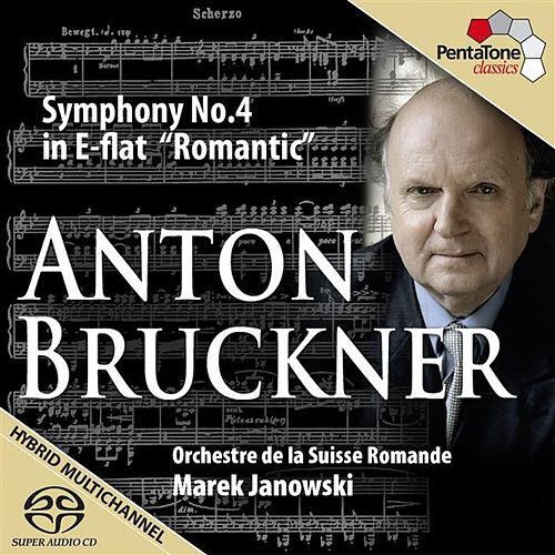 Bruckner: Symphony No. 4 in E-flat, WAB 104, 'Romantic' by Swiss Romande Orchestra