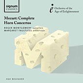 Mozart: Complete Horn Concertos by Richard Montgomery
