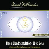 Pineal Gland Stimulation - 20 Hz Beta Isochronic Tones Brainwave Entrainment by Binaural Mind Dimension