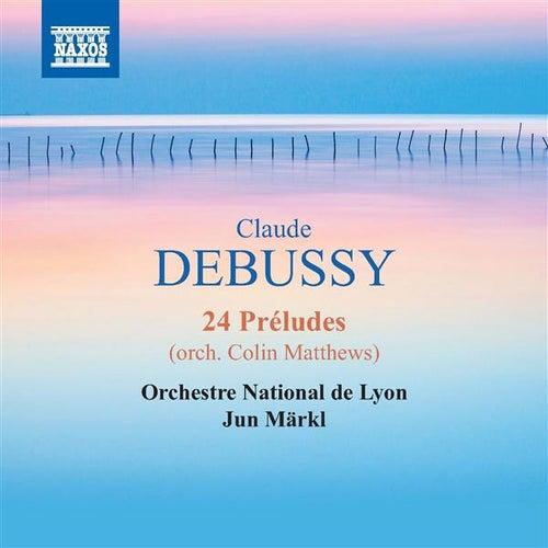 Debussy: 24 Préludes (arr. C. Matthews) by Lyon National Orchestra