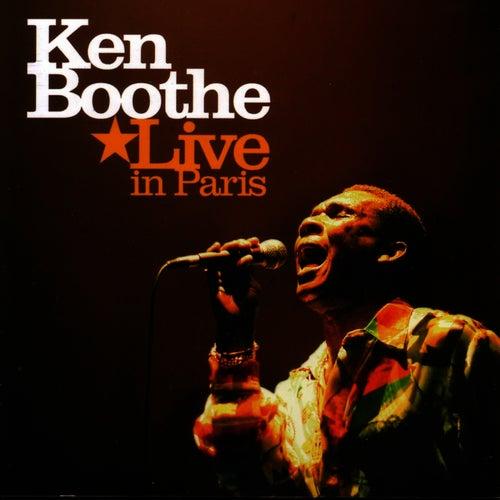 Ken Boothe Live in Paris by Ken Boothe